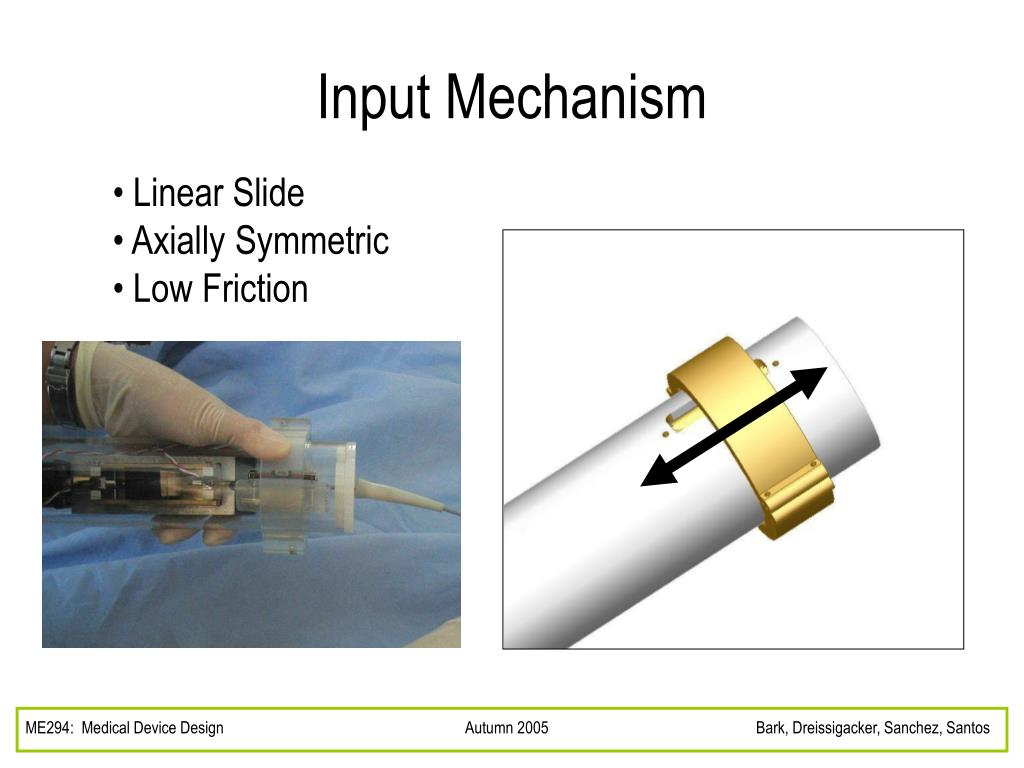 Input Mechanism