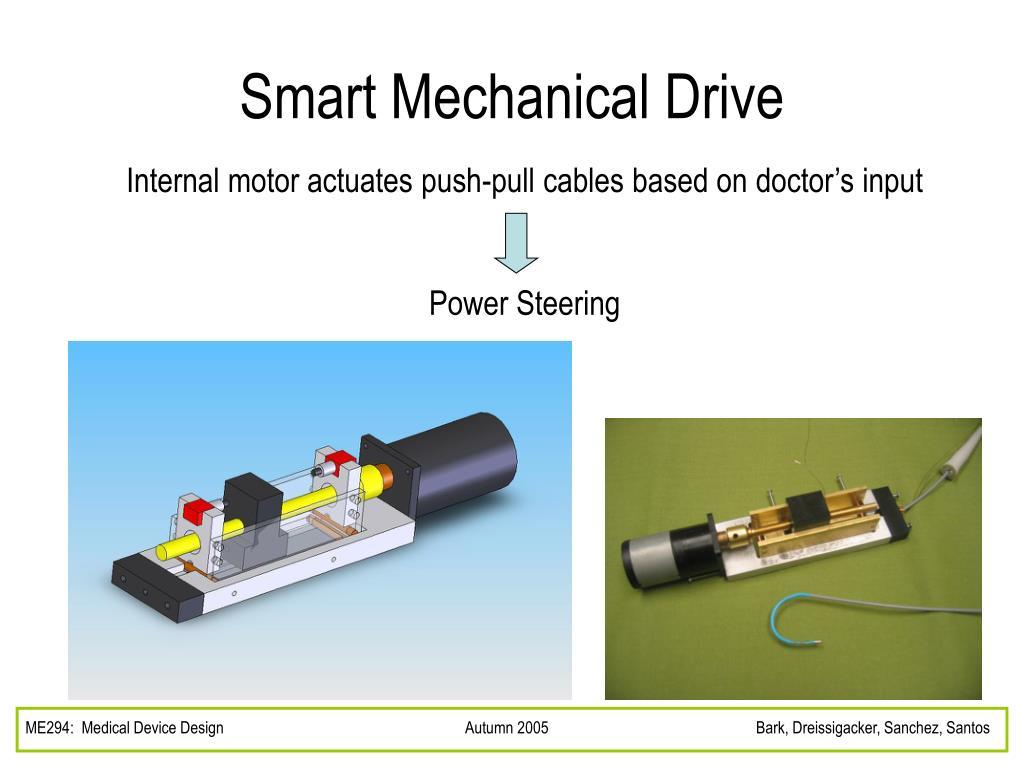 Smart Mechanical Drive