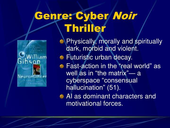 Genre: Cyber