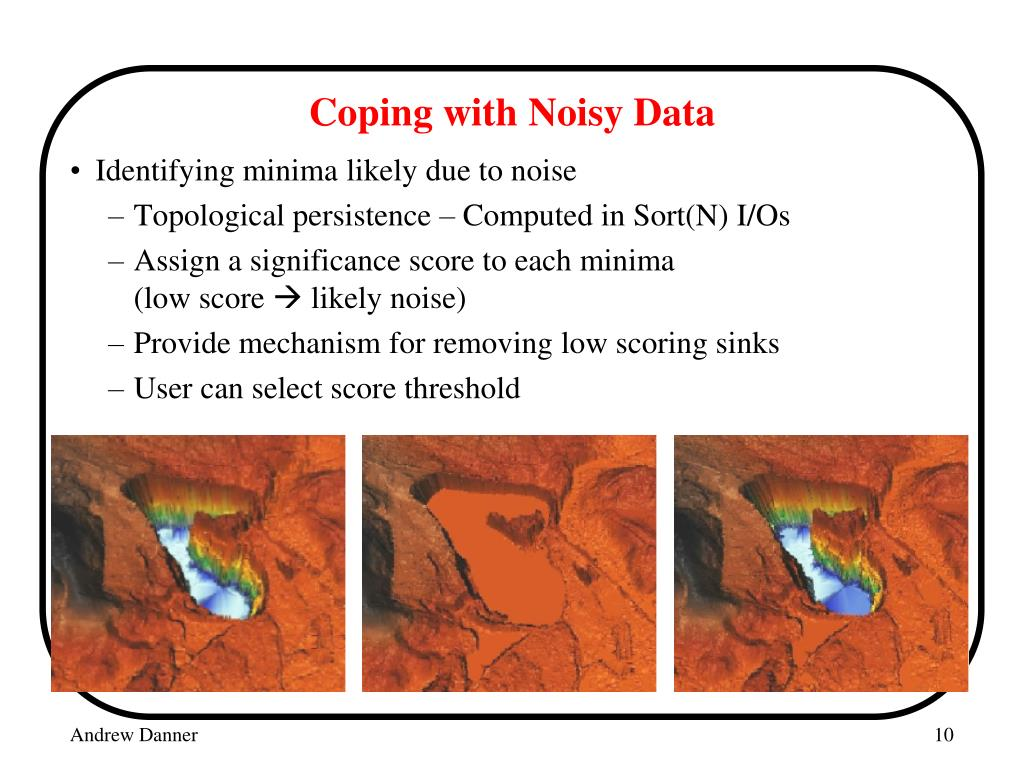Coping with Noisy Data