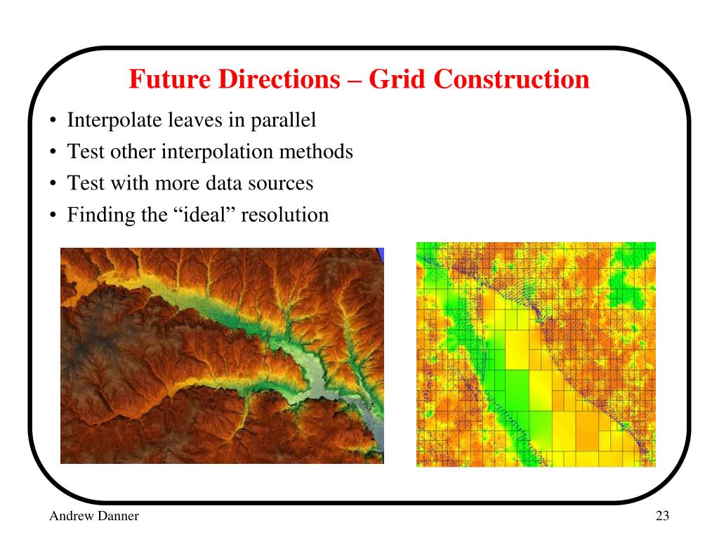 Future Directions – Grid Construction