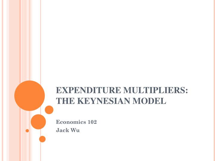 Expenditure multipliers the keynesian model l.jpg