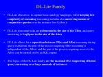 dl lite family