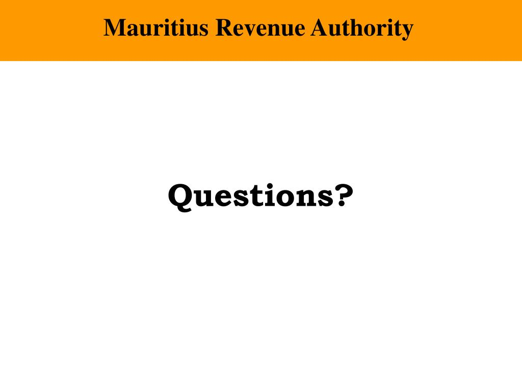Mauritius Revenue Authority