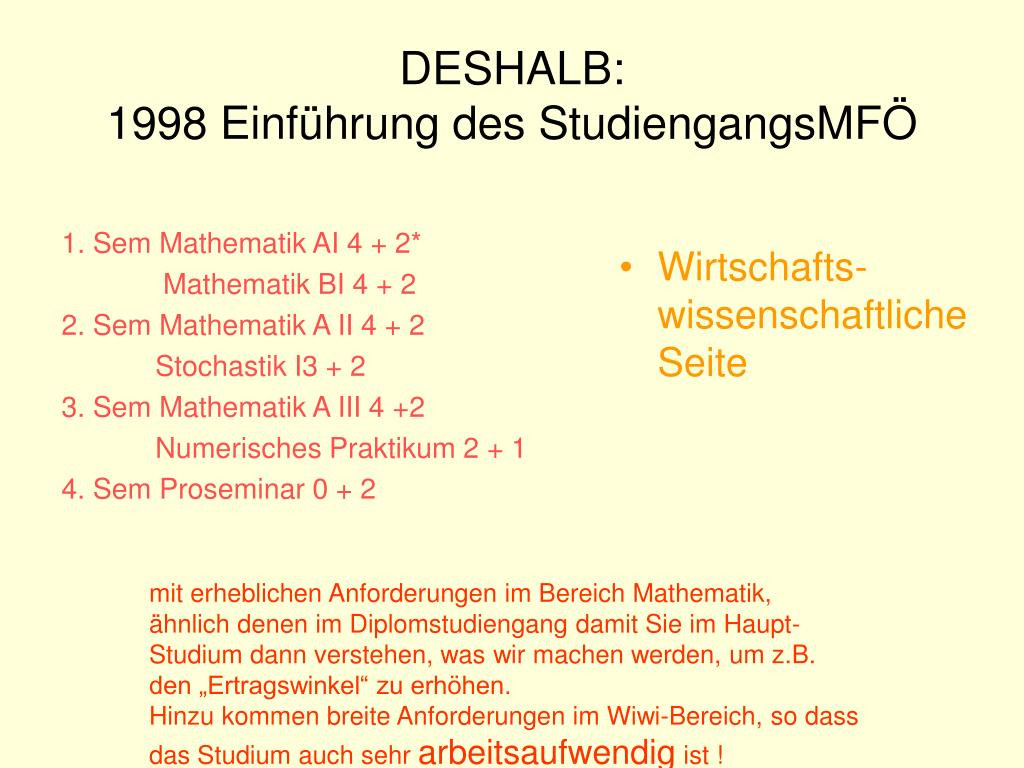 1. Sem Mathematik AI 4 + 2*