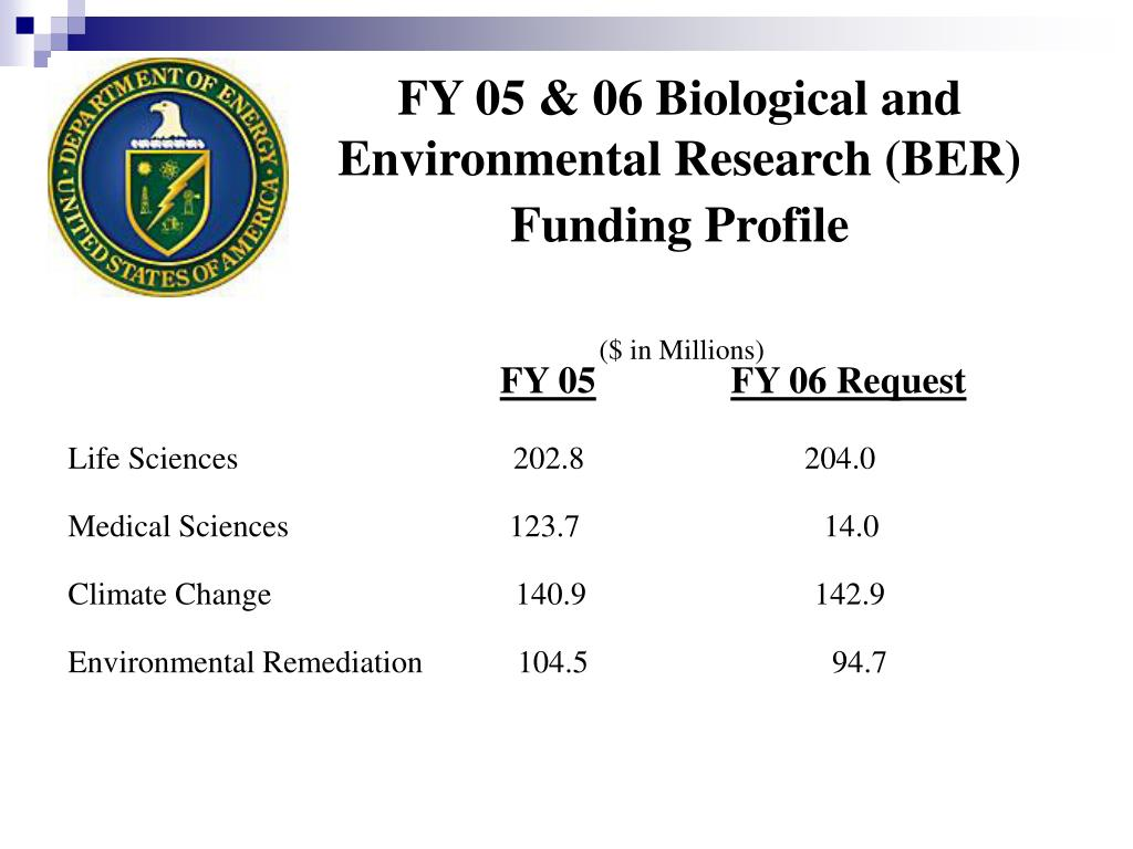 FY 05 & 06 Biological and