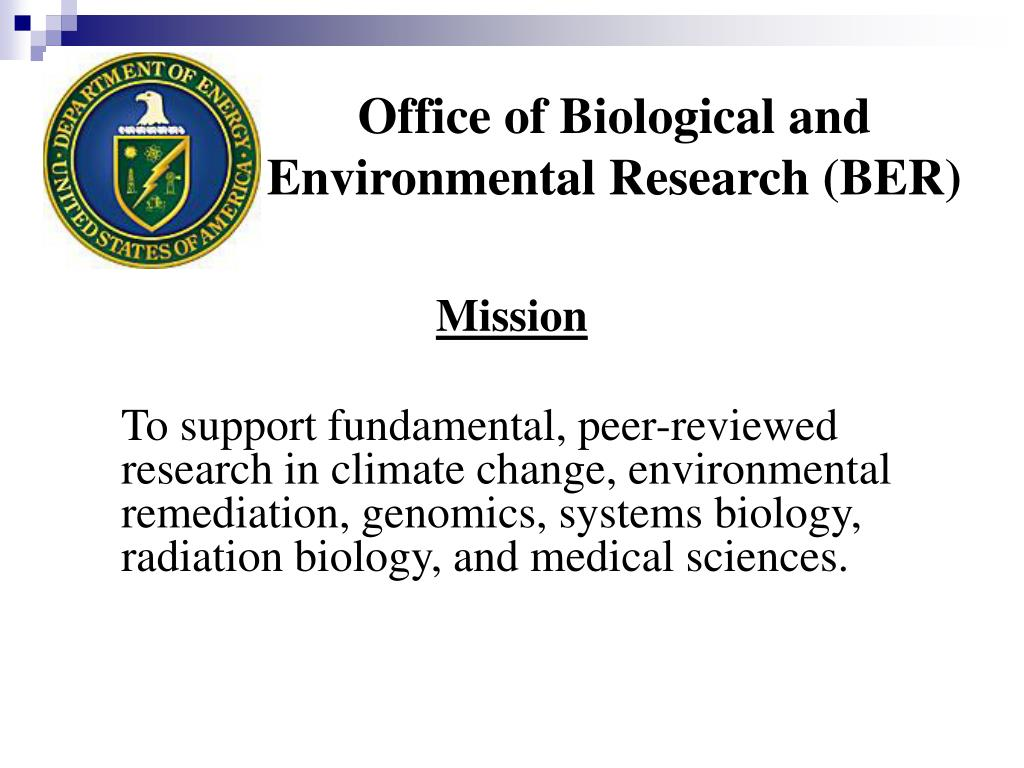 Office of Biological and