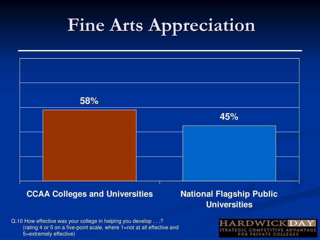 Fine Arts Appreciation