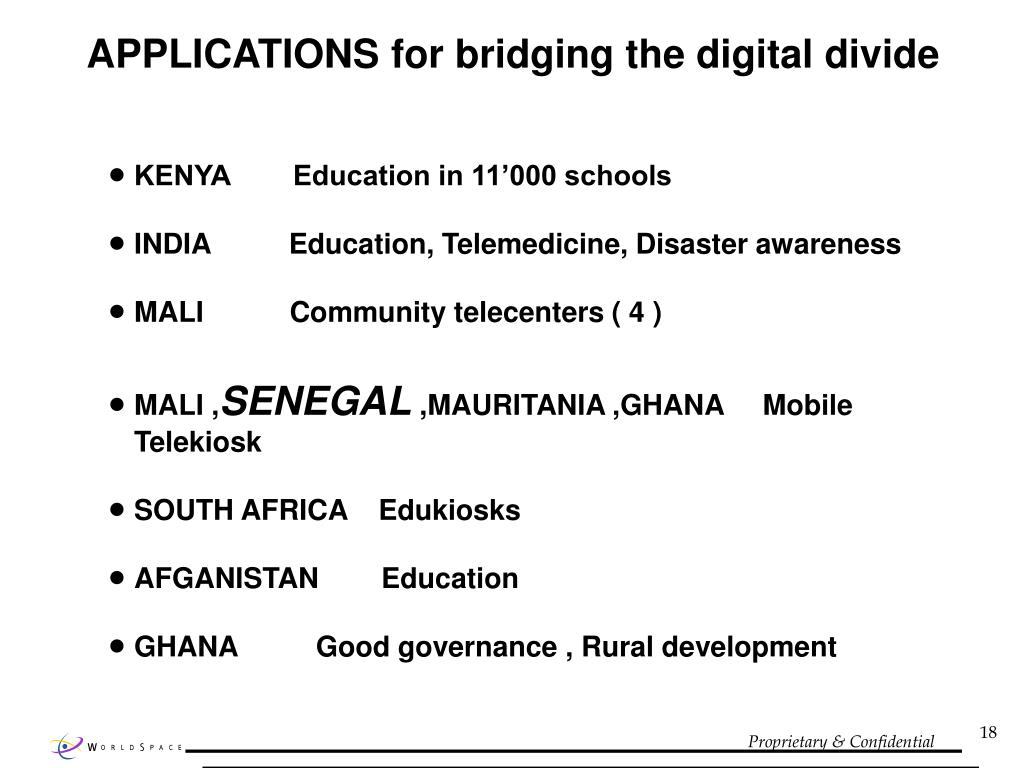 Mobile Technology Bridges the Digital Divide