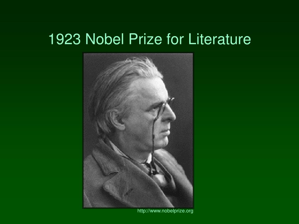 1923 Nobel Prize for Literature