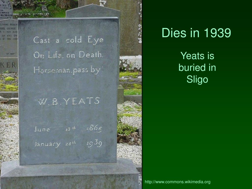 Dies in 1939