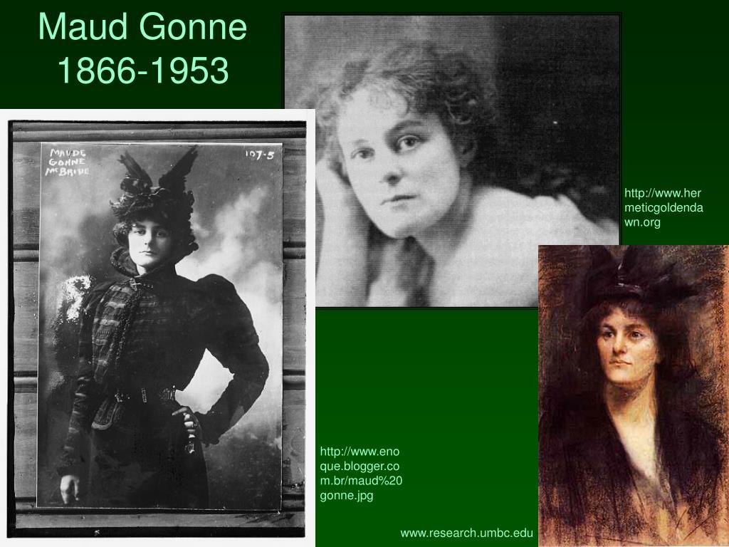 Maud Gonne 1866-1953