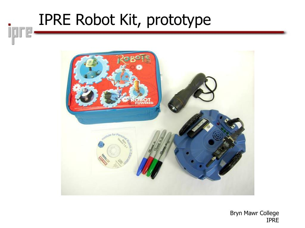 IPRE Robot Kit, prototype