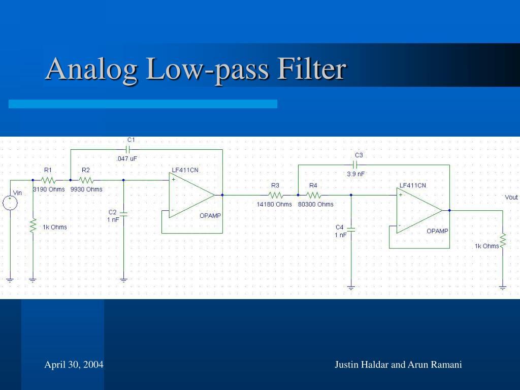 Analog Low-pass Filter