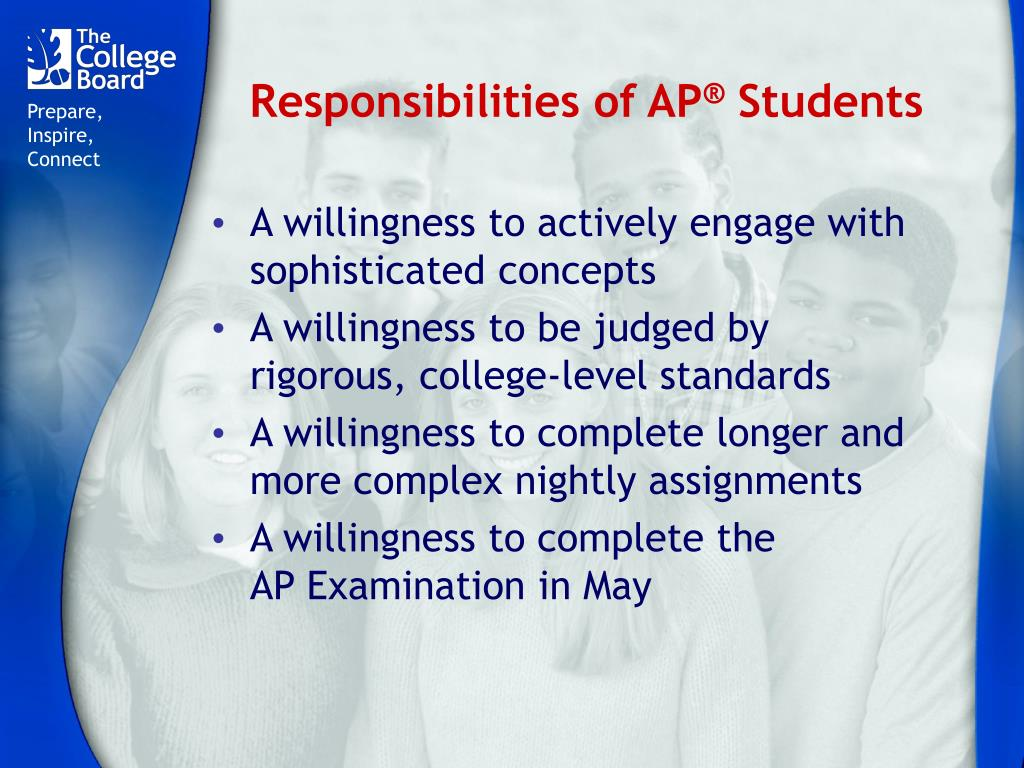 Responsibilities of AP