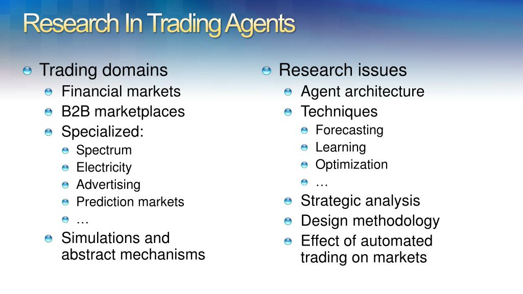 Trading domains