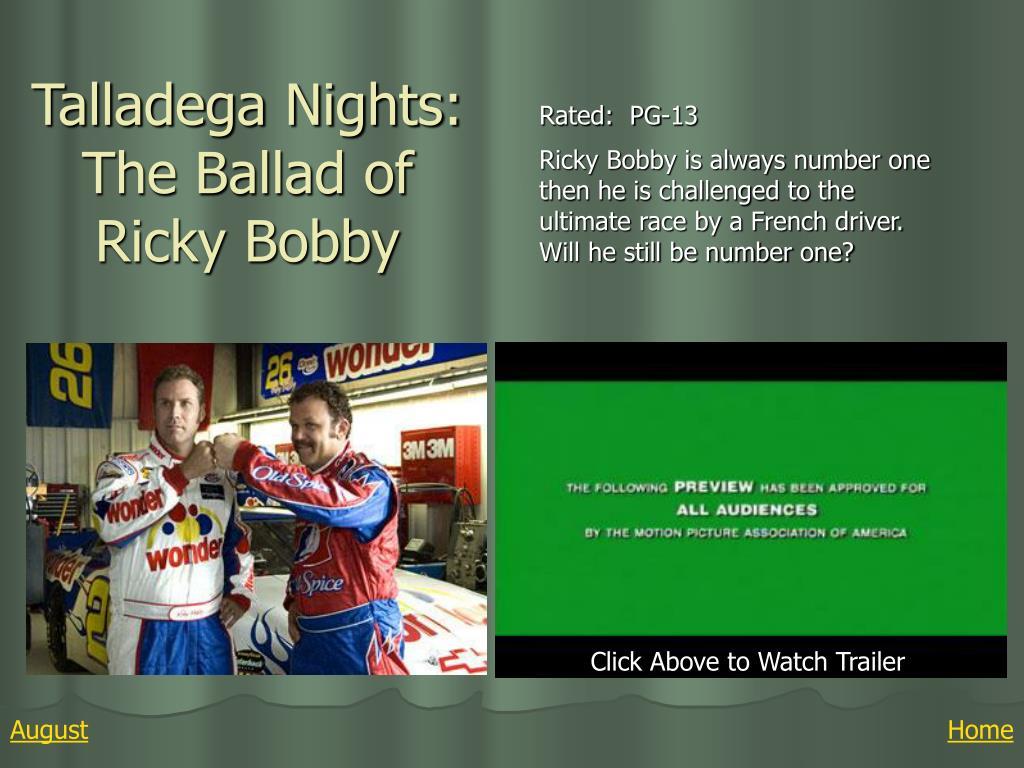Talladega Nights: