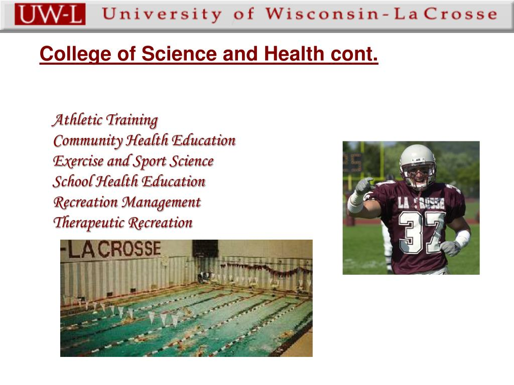 College of Science and Health cont.