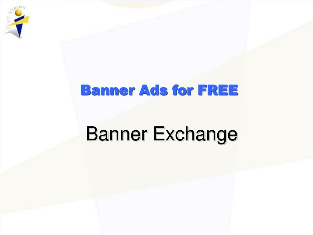 Banner Ads for FREE
