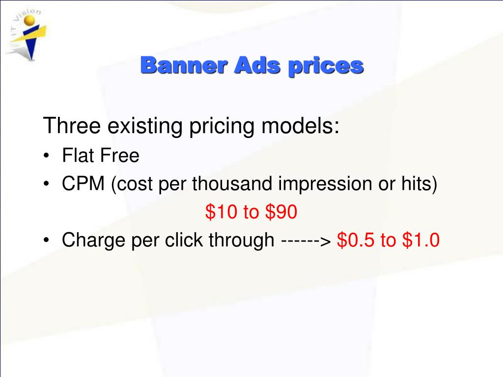 Banner Ads prices