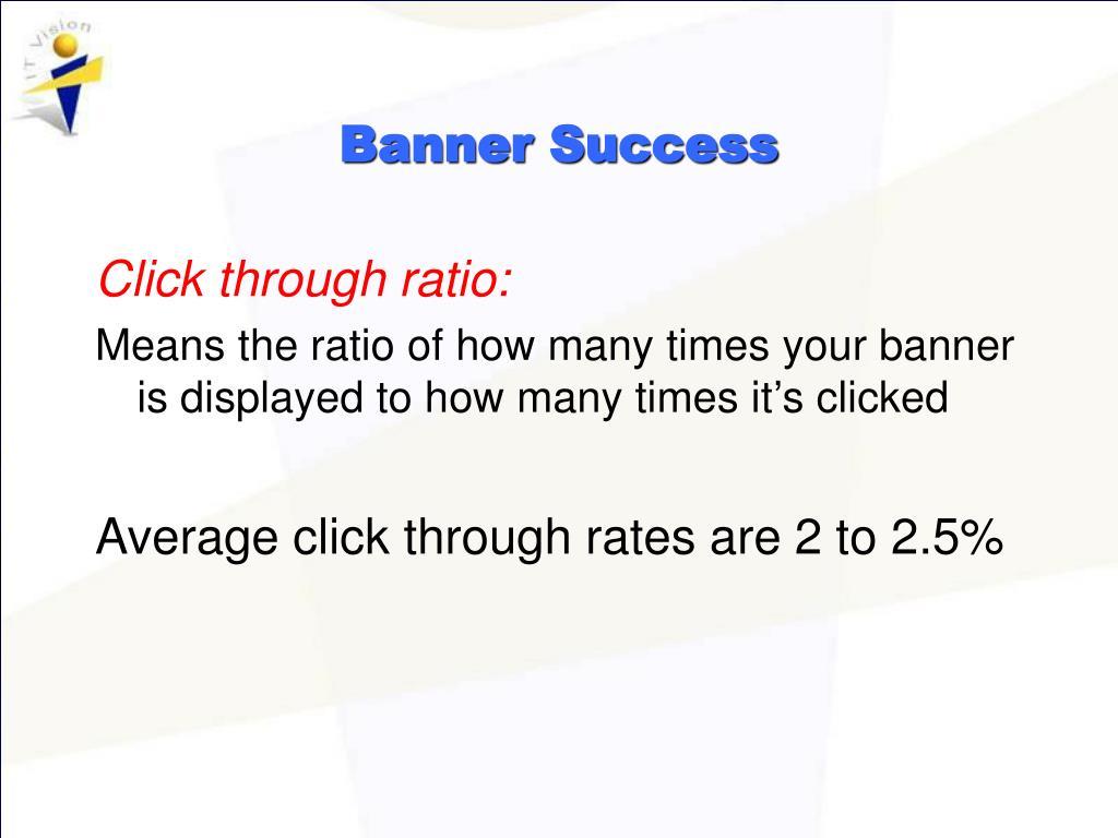 Banner Success