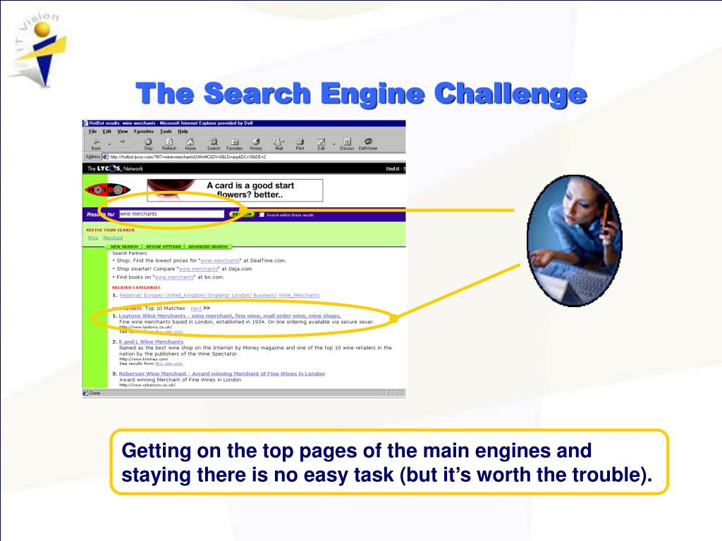 The Search Engine Challenge