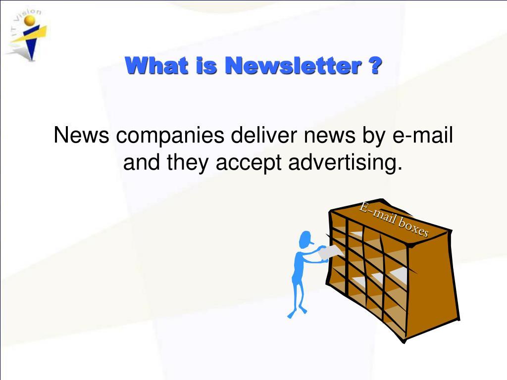 E-mail boxes