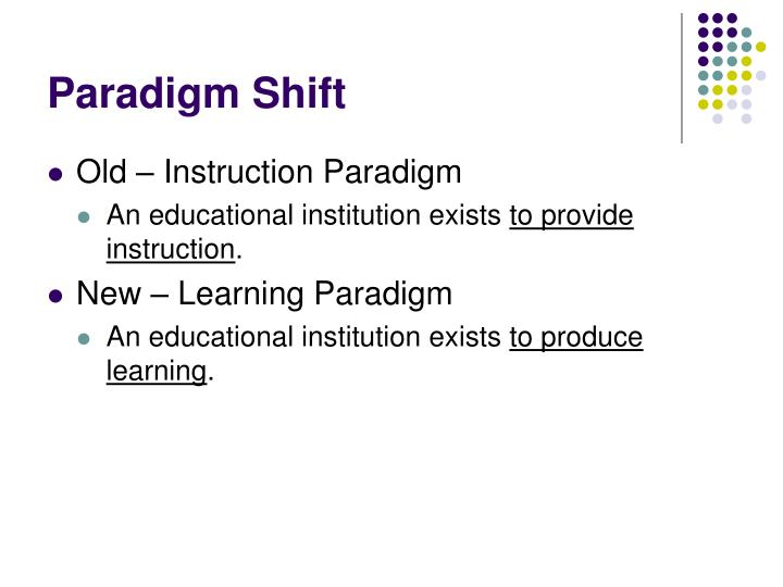 Paradigm shift l.jpg
