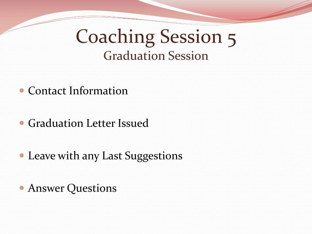 Coaching Session 5
