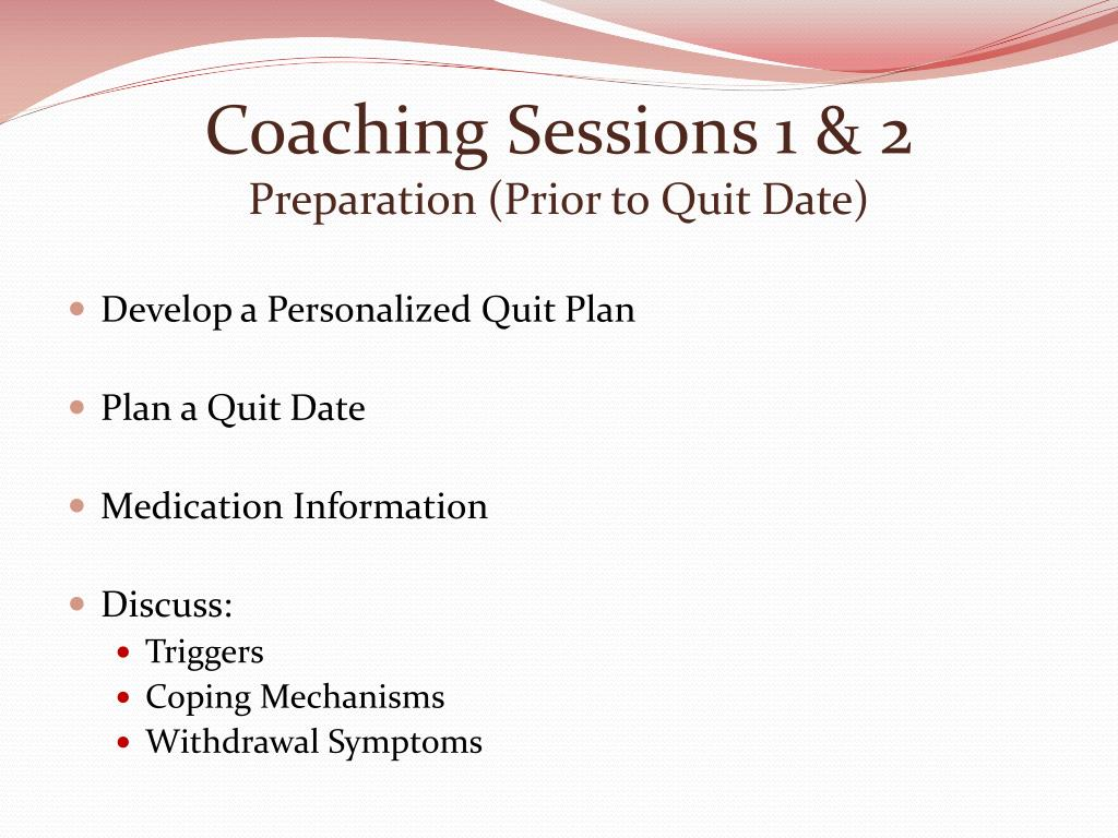 Coaching Sessions 1 & 2