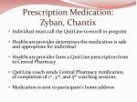 prescription medication zyban chantix