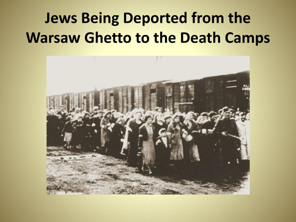 Jews Being Deported from the