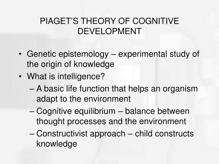 Piaget s theory of cognitive development l.jpg