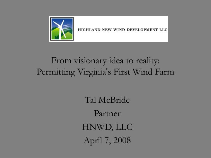From visionary idea to reality permitting virginia s first wind farm l.jpg