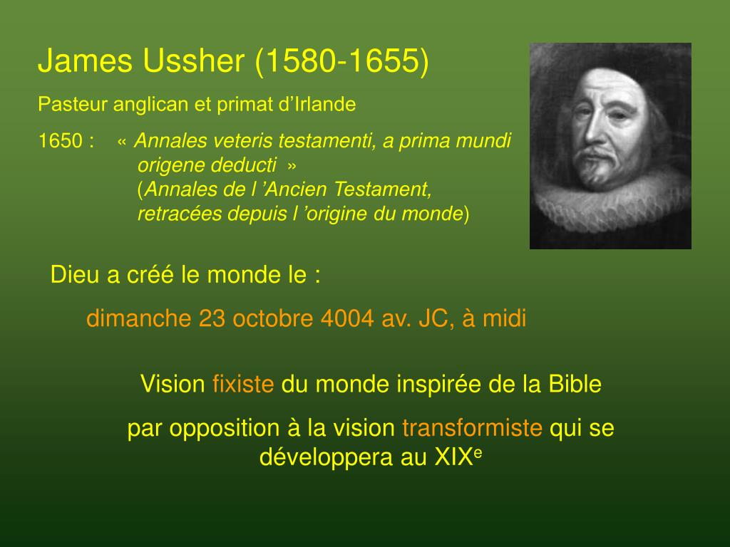 James Ussher (1580-1655)