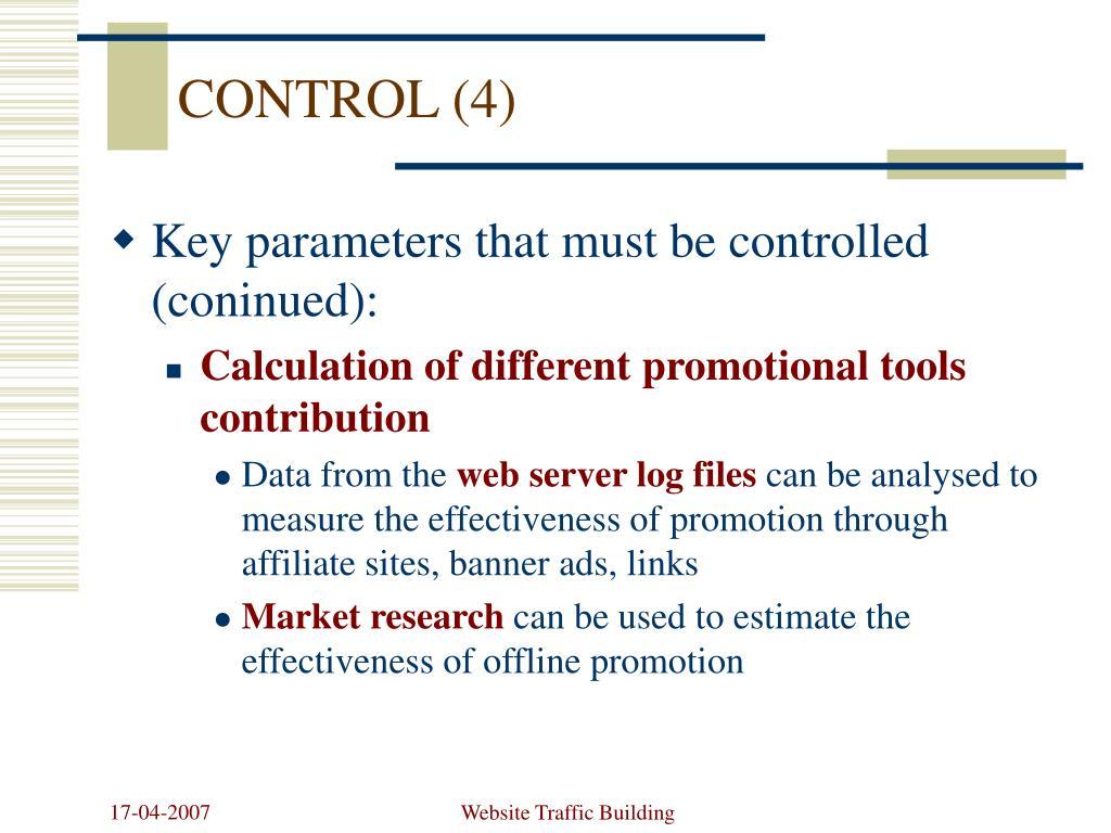 CONTROL (4)