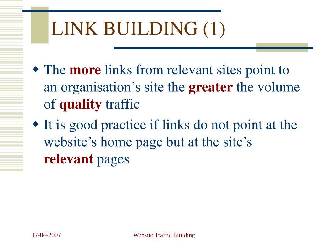 LINK BUILDING (1)