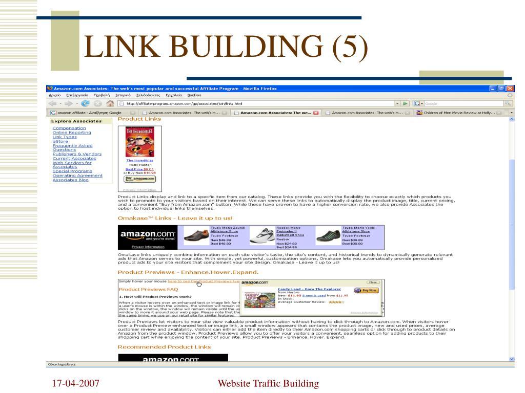 LINK BUILDING (5)