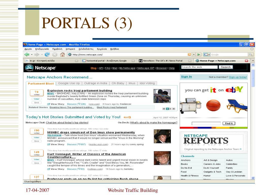 PORTALS (3)