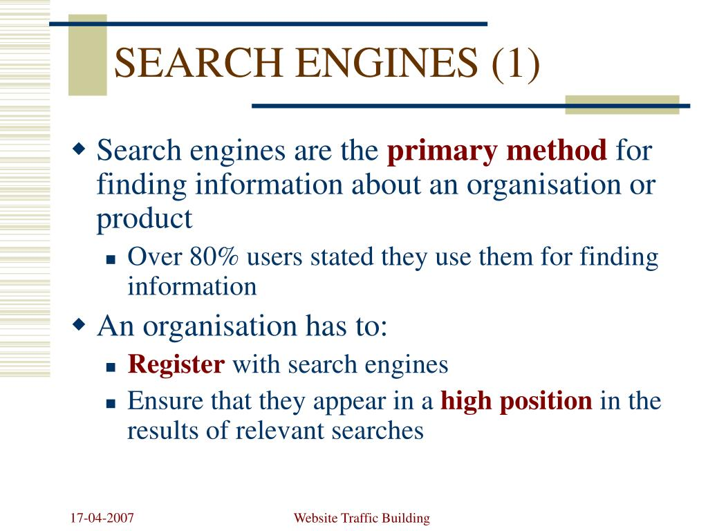 SEARCH ENGINES (1)