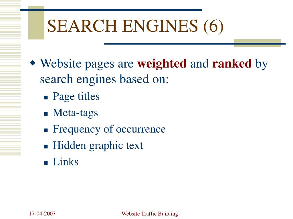 SEARCH ENGINES (6)