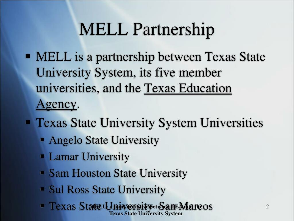 MELL Partnership