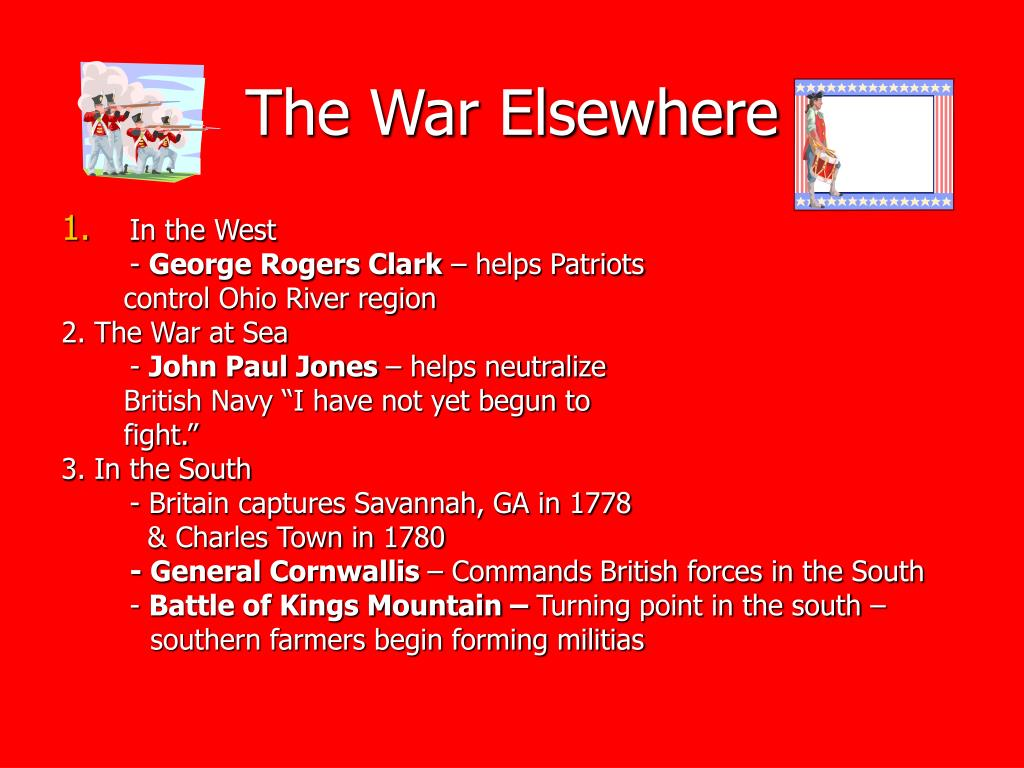 The War Elsewhere