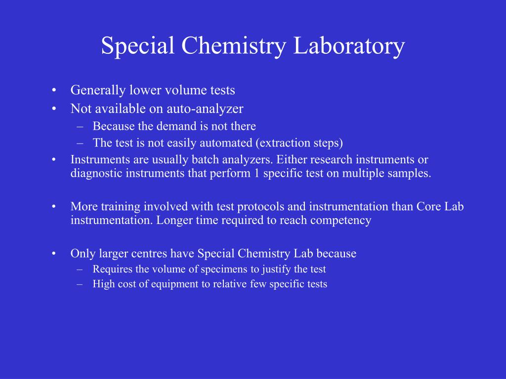 biochem 3h03 An outline of clinical chemistry its relation to disease and relevance to health care three lectures second term prerequisite(s): credit or registration in biochem.