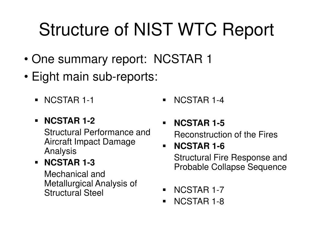 NCSTAR 1-1