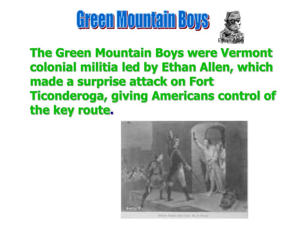Green Mountain Boys