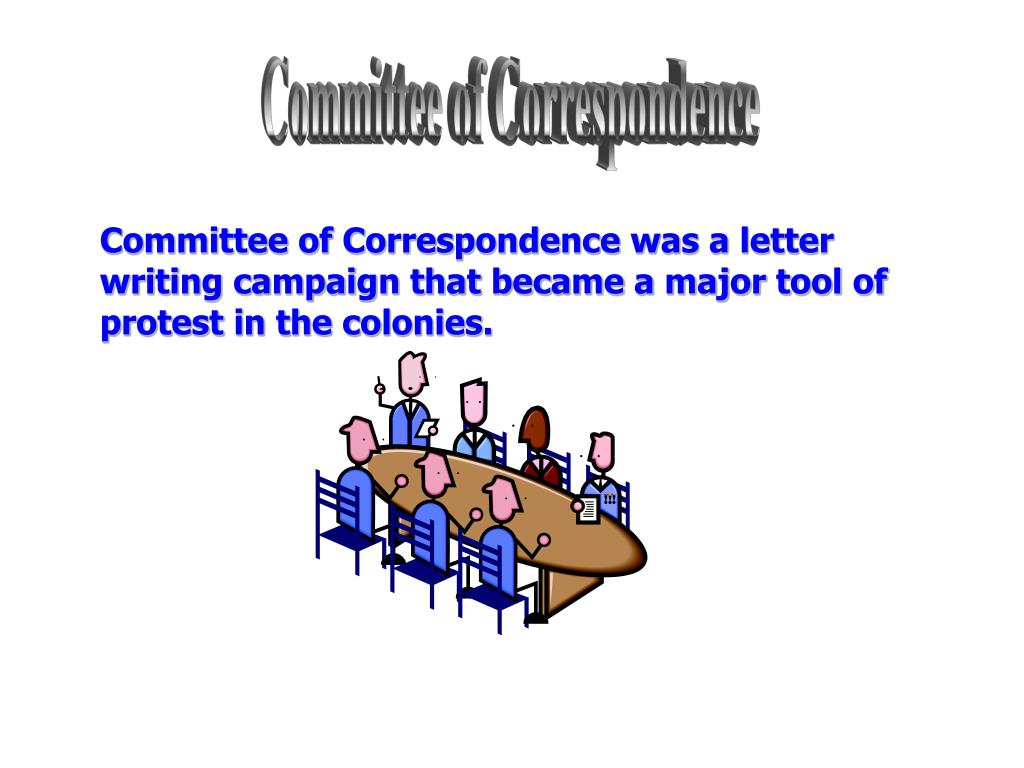 Committee of Correspondence