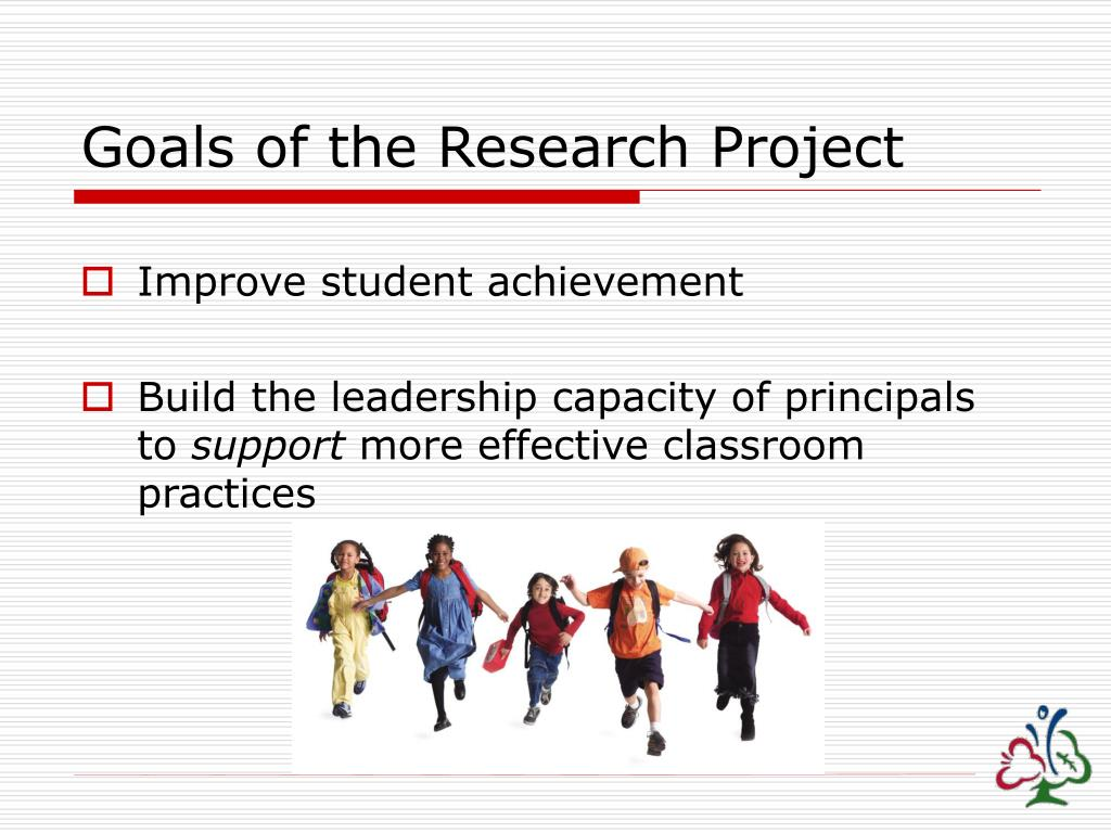 Goals of the Research Project