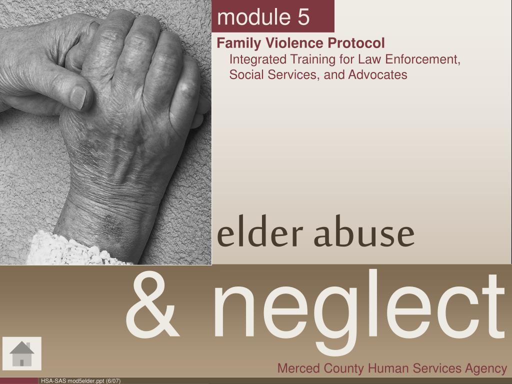Elderly abuse statistics 2018