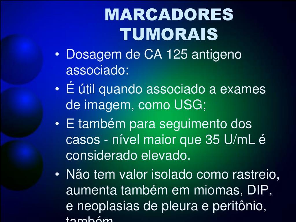 MARCADORES TUMORAIS